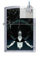 Zippo 7216 gothic demon Lighter & Z-PLUS INSERT BUNDLE
