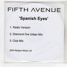 (FQ790) Fifth Avenue, Spanish Eyes - 2004 DJ CD