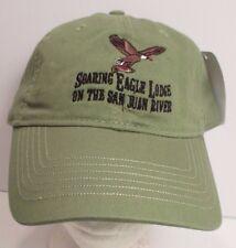 Soaring Eagle Lodge Hat Cap San Juan River Flying Eagle USA Embroidery New