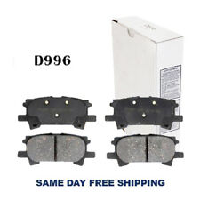 REAR Brake Pad For LexTrk:RX330,RX350,RX400h;ToyTrk:Highlander