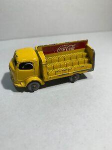 Vintage Matchbox Lesney Karrier Bantam Coca Cola Delivery Truck No. 37 (2-73)