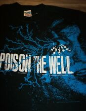 POISON THE WELL Punk Band T-Shirt YOUTH LARGE NEW