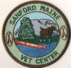 "Sanford ME Maine Vet Center 3.5"" Round Veterinarian Advertising Patch"