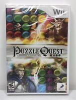 Nintendo Wii Puzzle Quest: Challenge of the Warlords *Brand New* *Sealed*