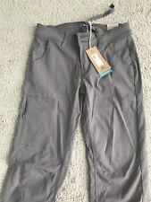 Prana Halle Pants Regular Inseam Size 0 Moonrock Color