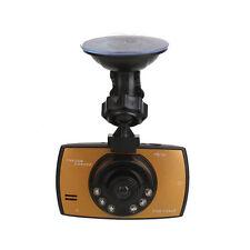 720P HD 2.4'' inch Car Camera Dash Cam Recorder Night Vision G-Sensor Gold