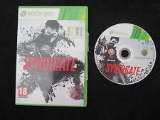 XBOX 360 : SYNDICATE - ITA !
