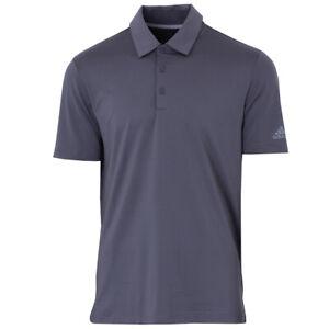 adidas Herren Golf Poloshirt Ultimate365 2.0 Solid Polo Golfshirt grau
