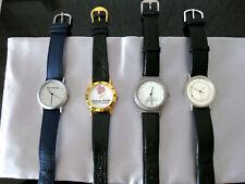 Armbanduhr* Uhr* Werbungsuhren 4 Stück* Quarzuhren mit Werbung*neuwertig