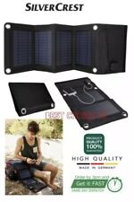 Silvercrest Solar panel 5V 13.2W Foldable,made in Germany ( Same Day Dispatch )