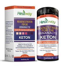 Keton Teststreifen 125 Stück- ideal für Diabetiker & Ketosis - ketose - ketostix