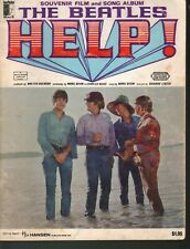 Help Beatles Souvenir Film and Song Album Sheet Music