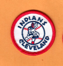 OLD WAHOO LOGO 1970's CLEVELAND INDIANS 2 inch PATCH UNSOLD STOCK