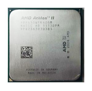 AMD Athlon II X4-650 ADX650WFK42GM 3.2GHz 4-core Socket AM3 95W CPU Processor