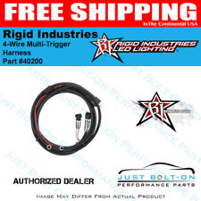Rigid Industries 40200 4-Wire Multi-Trigger Harness