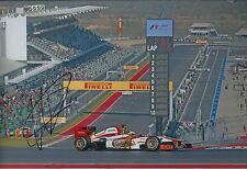 Pedro De La ROSA SIGNED Autograph 12x8 Photo AFTAL COA F1 Grand Prix of America