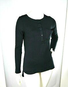 Top Maglia Donna ATOS LOMBARDINI Italy Pullover H206 Nero Tg 40 veste grande