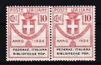Italien Mi Nr. 34 ** Paar, Portomarke, postfrisch, MNH