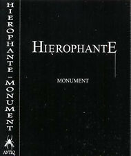 Hierophante-Monument Cassette Printed fold out cover and dubbed tape - 42 min