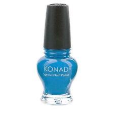 Konad Stamping Nail Art Special  Polish Princess CORAL BLUE 12ml USA SELLER