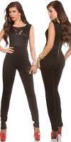 Lace red beige black jumpsuit trouser + top sizes 8 10 12 14 16 sexy jumpsuit