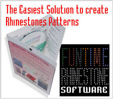 FUNTIME  RHINESTONE STRASS  SOFTWARE  PATTERN DESIGN MAKES EASY TO USE