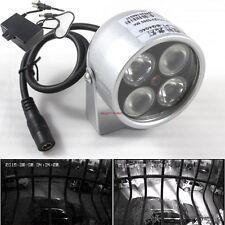4LED Infrared Night vision IR Light Illuminator lamp with Power Supply Adapter