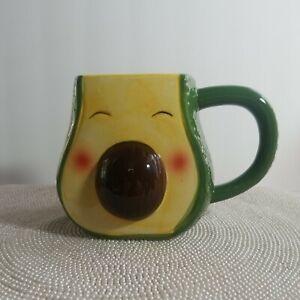 Boston Warehouse 18-Oz Mug, Avocado Shaped Mug