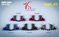 VSTOYS 19xG68 1/6 Scale Female Roller Skates Shoes  fit for 12'' Phicen JO Doll