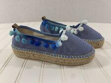 Fiore Capri Womens Espadrille Slip-On Shoes Size 37
