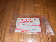 Honda 91356-Mg8-671 O-Ring For Vf1000R Fork Rebuild-Fits Other Models As Well.