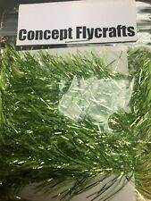 2 metre pack carded Green swimming fritz fly tying kit pike saltwater lures