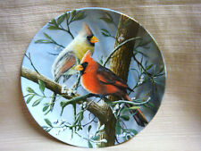 Cardinal Pair Ltd Ed Porcelain Plate Kevin Daniels for Knowles