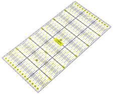Transparentes Universal Patchwork Lineal Perfekt für Rollschneider in 15 x 30 cm