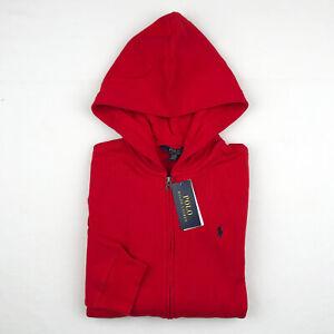 Polo Ralph Lauren Boy's Full Zip Fleece Hoodie Size L, XL