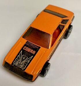 Hot Wheels Blackwall Orange Cobra Turbo Mustang 3 Pack Only!!!