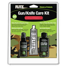Flitz Kg41501 Mixed Knife/Gun/Rifle Care Cleaning Kit with Wax Cleaner Polish