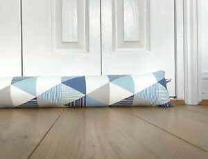 LONG DRAFT EXCLUDER, modern fabric draught stopper, custom made draught excluder
