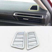 ABS Matte Interior Upper Air Vent Outlet Trim 2PCS for Peugeot 508 2019 2020