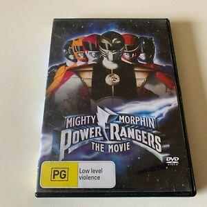 Mighty Morphin Power Rangers - The Movie (DVD, 1995, Region 4)