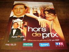 GAD ELMALEH & AUDREY TAUTOU - Publicité de magazine FILM HORS DE PRIX !!!!!!!!!