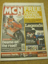 MCN - MOTORCYCLE NEWS - DESMO ON THE ROAD - 26 March 2008
