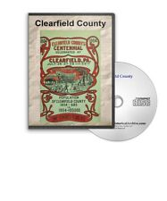 Clearfield County, Pennsylvania PA History Culture Genealogy 6 Books - D343