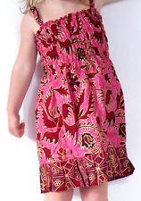 Robe Fille 3 - 4 ans Enfant Ethnique Batik Vêtement / rose