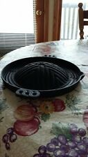 Mongolian Grill Cast Iron Cookware Stir Fry Cooking Portable Travel Skillet BBQ