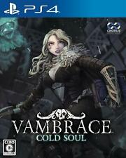 NEW PS4 VAMBRACE COLD SOUL JAPAN Sony PlayStation 4 import Japanese game