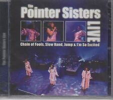 """The Pointer Sisters """"Live"""" NEW & SEALED CD 1st Class Post From The UK"""