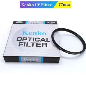 Kenko 77mm UV Digital Filter Lens Protection for Nikon Canon Sony Camera Filter