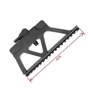Tactical Quick Detach Side Rail Mount Base Hunting Rifle Scope Gun Accessories