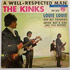 EP 45T the Kinks Louie Louie  PNV 24151  bon état avec languette